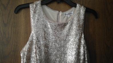 prom dress close up