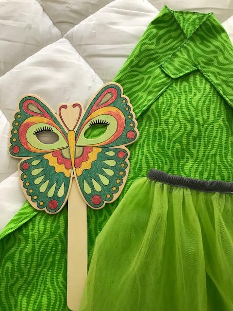 mal green costume upclose